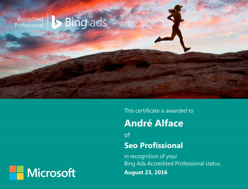 bing ads andre alface
