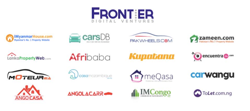 frontier digital ventures portfolio